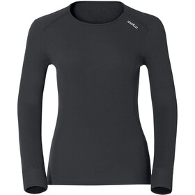 Odlo Ladies Shirt l/s crew neck WARM black